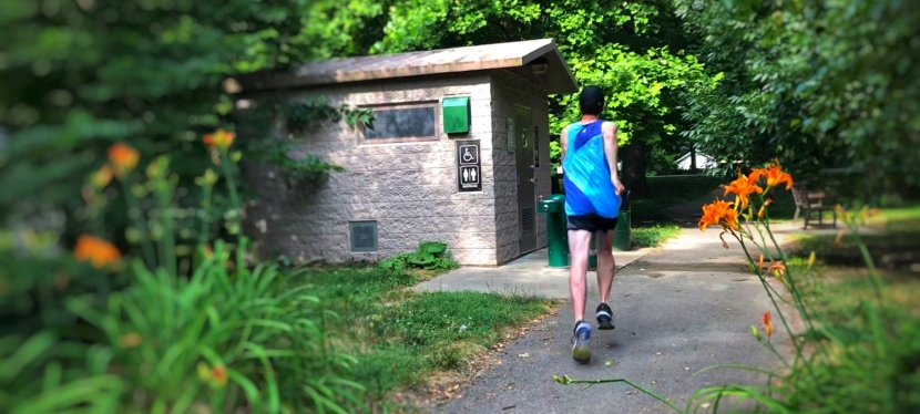 Monon Trail: 7 Places to Hydrate and/or Evacuate. Broad Ripple Village to 42ndSt.